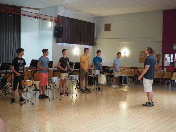 Ensemble percussions